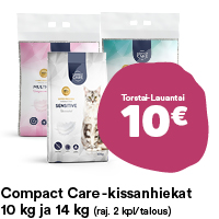 Compact Care -kissanhiekat