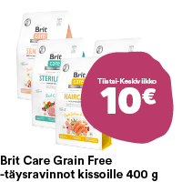 Brit Care Grain Free -kuivaruoat kissoille